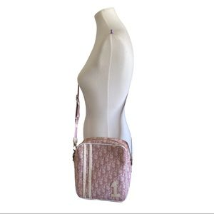 Authentic Dior Pink Trotter Crssbody